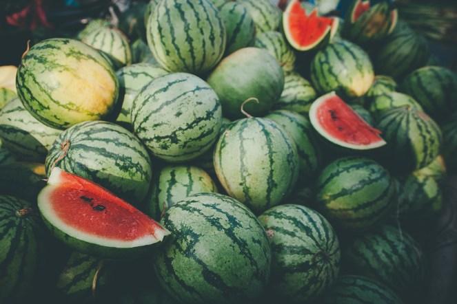Watermelons in Sri Lanka