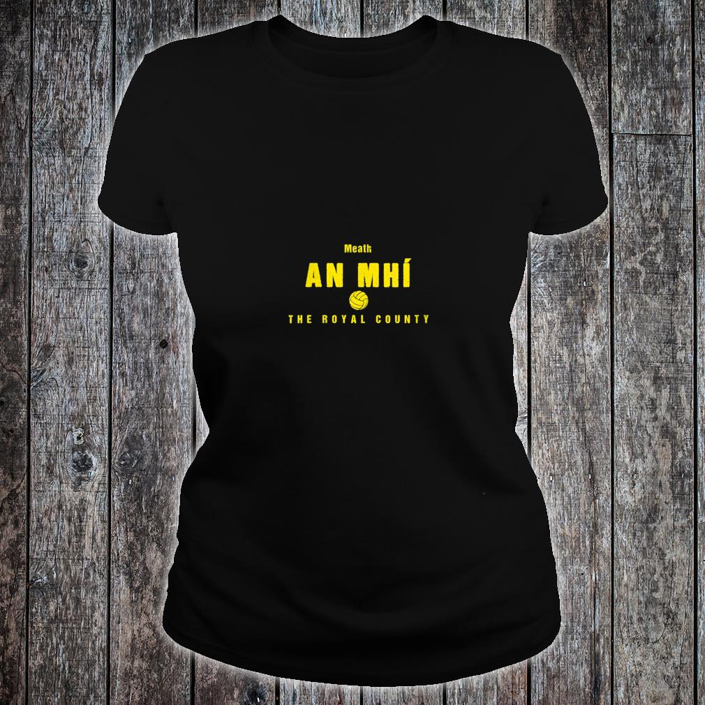 Womens Meath Supporters Gaelic Football and Hurling Shirt ladies tee