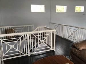 Custom balcony and stair railing