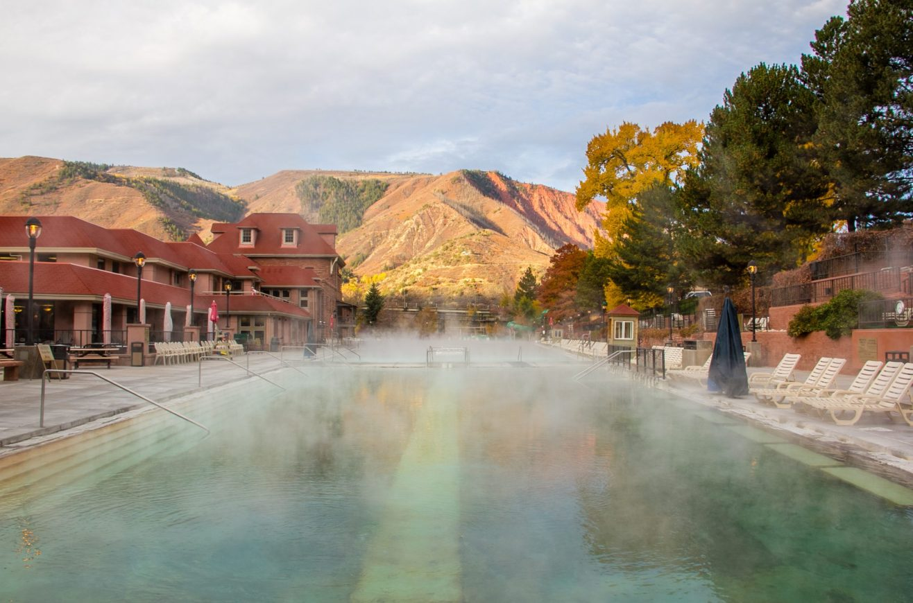Hot Springs Fall Morning