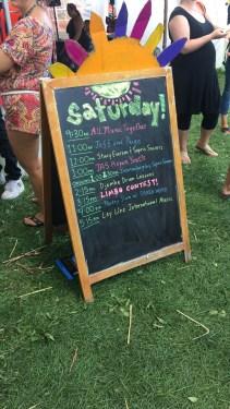 Mountain Fair schedule