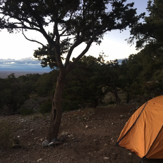 Camping at the Sand Dunes