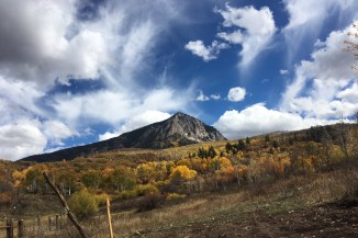 views of Mount Crested Butte