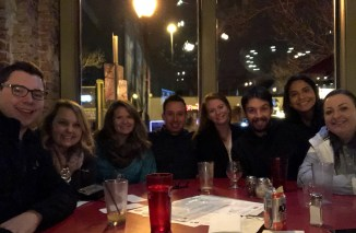 Meeting up with our great friends Stephen, Shelby, Paige, Bobby, Alexis, and Jessica in Denver.