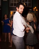 Chad getting down on the dance floor at Shelby and Stephen's wedding