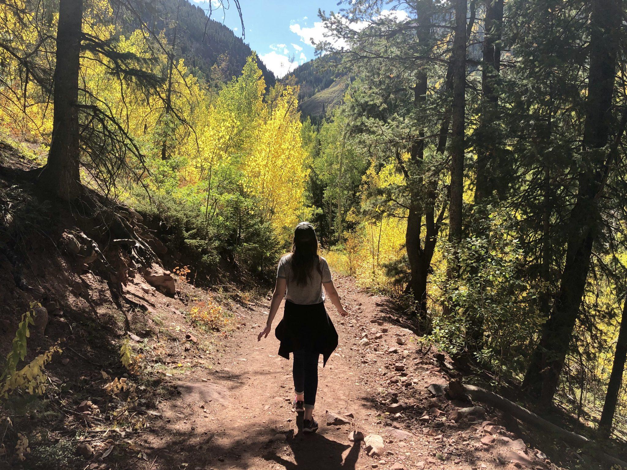 Fall time Snowmass Colorado
