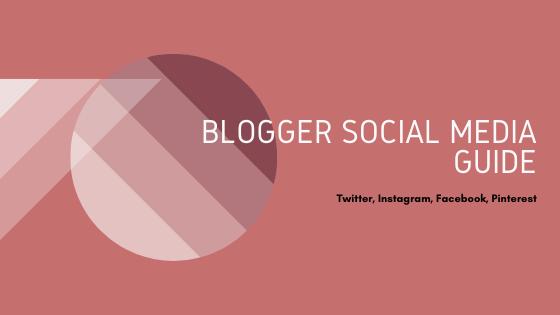 Blogger social media guide