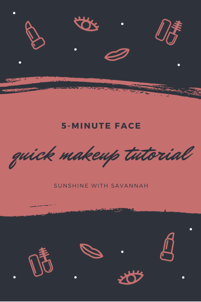 sunshine with savannah makeup tutorial