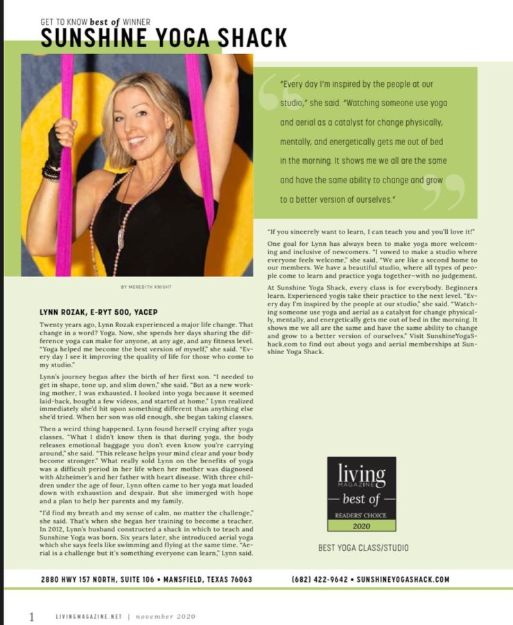 Get to know Living mag