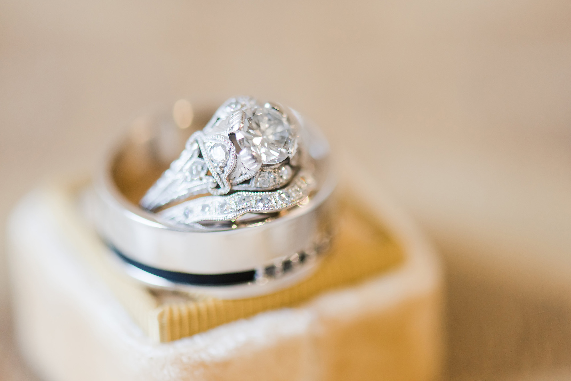 Rock Your Non Traditional Engagement Ring Charlotte