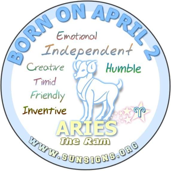 April 2  Birthday Horoscope Personality  Sun Signs