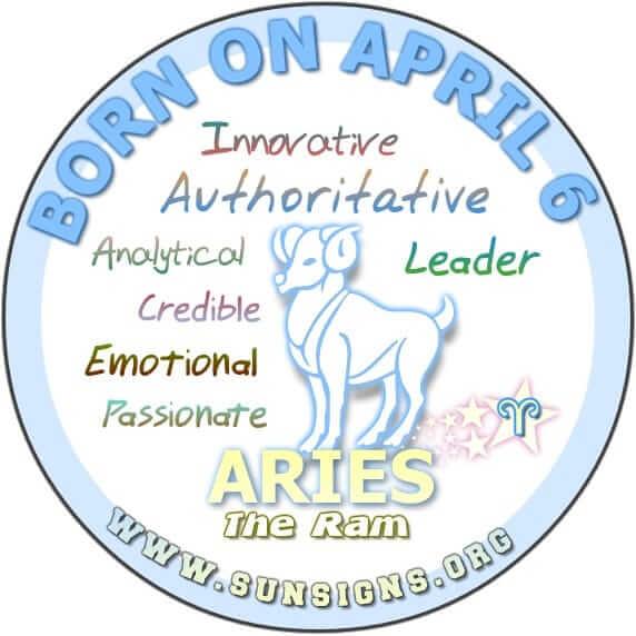April 6 Birthday Horoscope Personality  Sun Signs