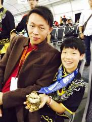 2016 WildAid Competition Kid's Kungfu Winner Sun's Kung Fu Academy San Jose