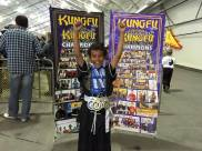Kids Kung Fu competition winner