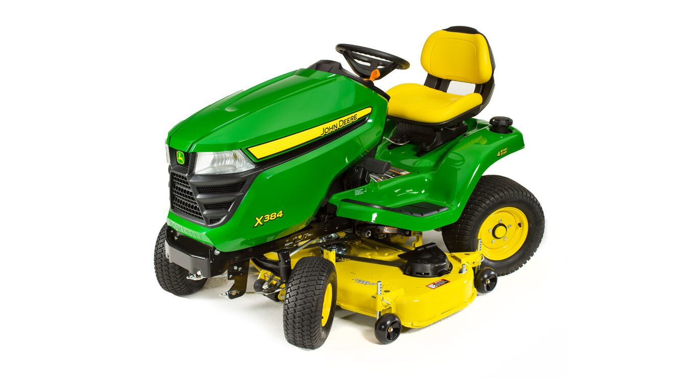 hight resolution of x384 lawn tractor with 48 inch deck