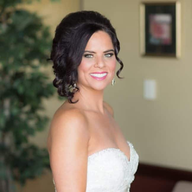 Kristen wedding spray tan toledo oh