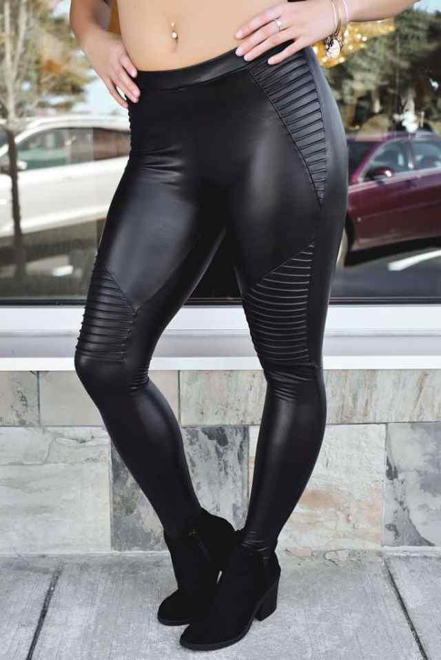 Leggings after spray tan