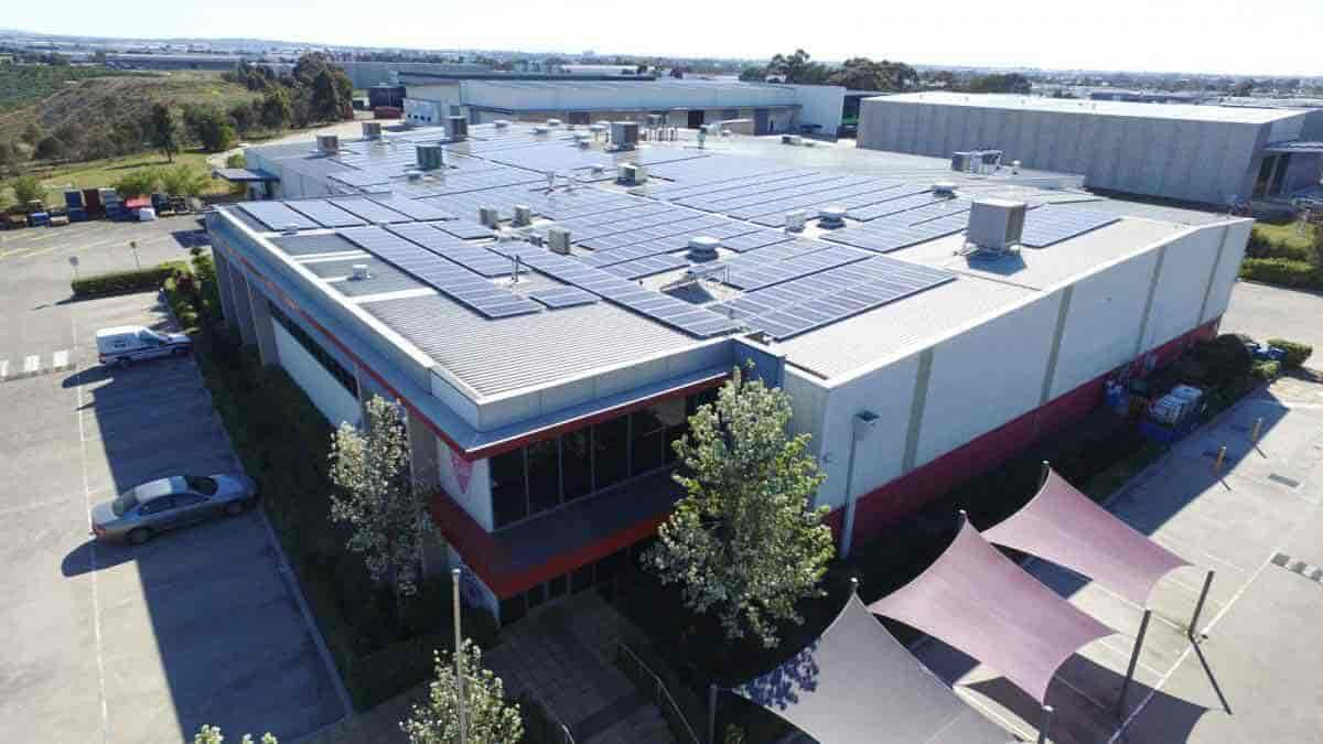 475kW Commercial Solar Power System