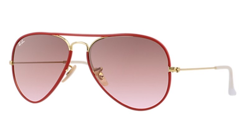 PAINT YOUR SUMMER HOLIDAYS RED FOR CHINESE NEW YEAR red rayban aviators