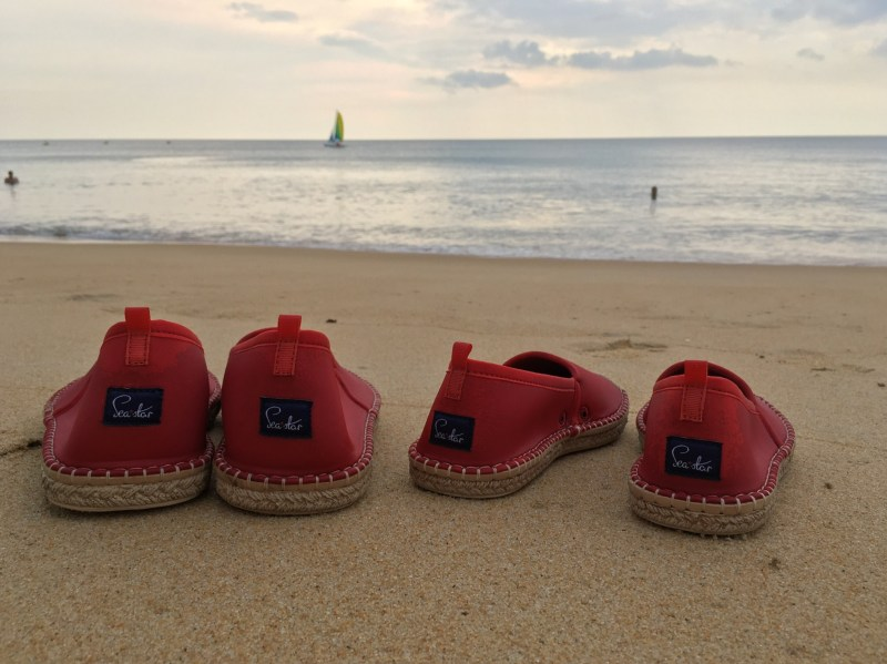 VALENTINE'S DAY GIFT IDEA WITH SEA STAR BEACHWEAR red beachcombers