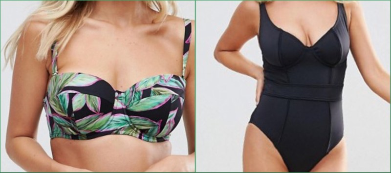 THE IDEAL SWIMWEAR FOR YOUR BODY TYPE large chest