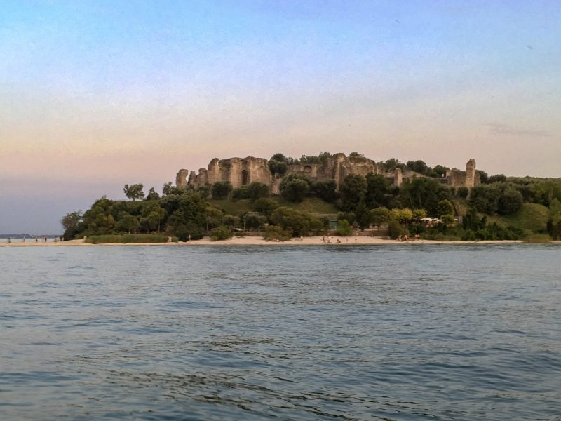 jamaica beach and the grotto of sirmione