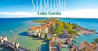 what to do in sirmione in lake garda aerial view of sirmione peninsula