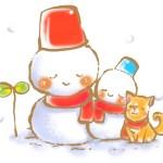 雪だるまの可愛い無料イラスト・写真を掲載しているサイトまとめ