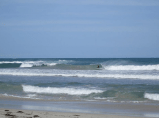 Surf at back beach in Geraldton
