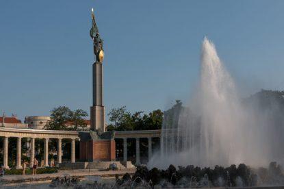 Soviet monument Vienna