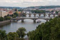 Many bridges of Prague