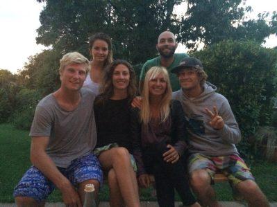 Atlantic surf lodge team