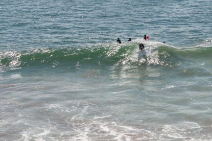 Dan surfing the wedge of at Hash point
