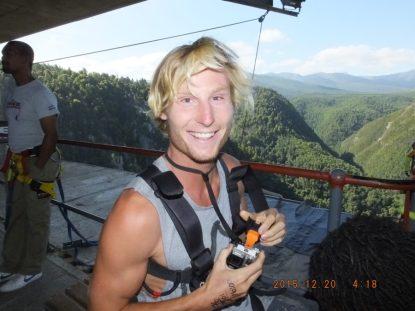 Dan pre bungee jump
