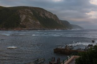 The wide storms river mouth