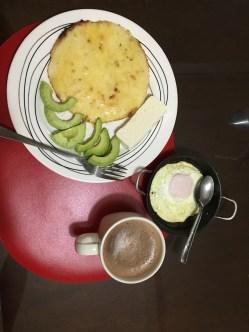 Paisa food- Arepa