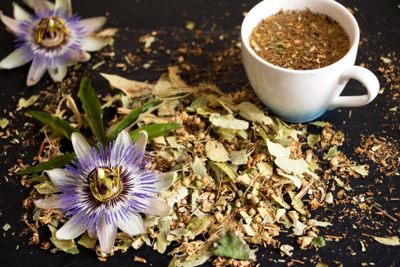 ceai de floarea pasiunii, passiflora, frunze de passilora, floare, insomnie