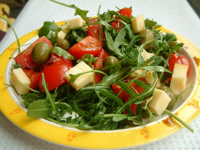 rucola salad, salata de rucola reteta,