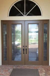 Front Door Window Film