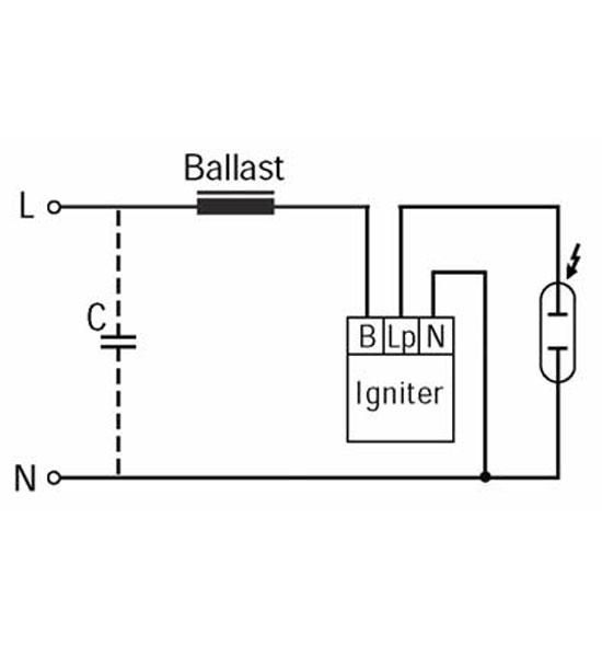 BAG Turgi 1000W Tanning lamp Igniter 230V For 600-1000W HP