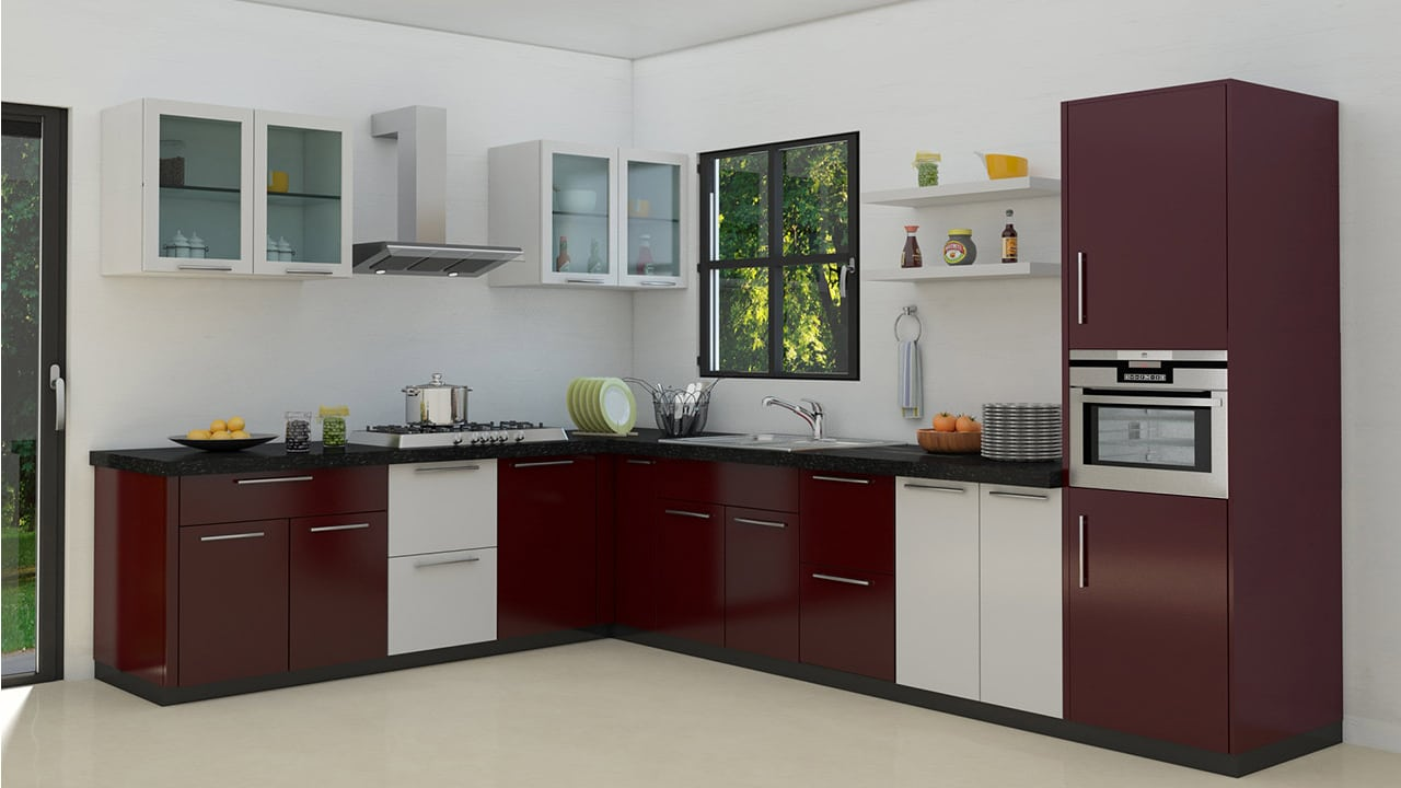 modular kitchens shallow kitchen cabinets 10 things to keep in mind before installing ambala identify the space and finalize design