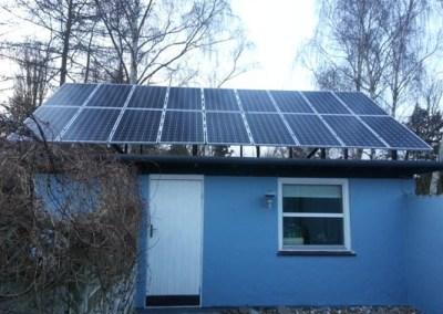TISVILDELEJE – SOLCELLEANLÆG PÅ 3510 WATT