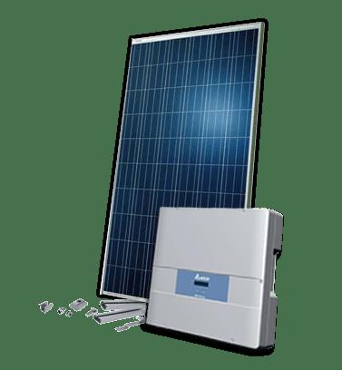 Hybrid Solcelleanlæg