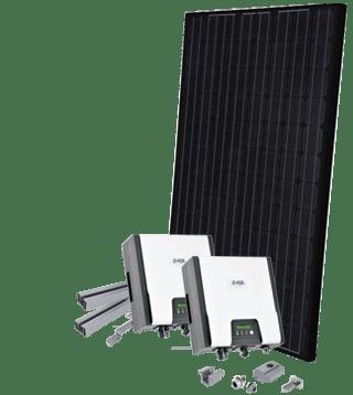 Normal solcelleanlæg