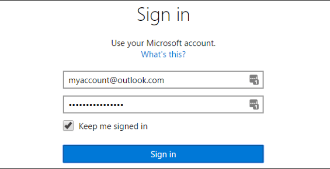 Microsoft and Outlook Account