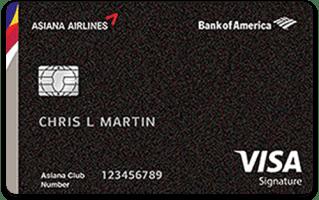 asiana Signature Credit Card