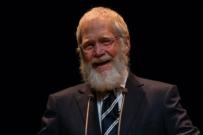 Who is David Letterman?