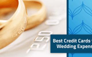 Best wedding credit cards