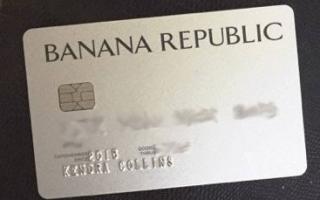 Banana Republic Credit Card, Benefits and it's Rewards...