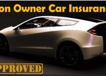 Non car owner insurance